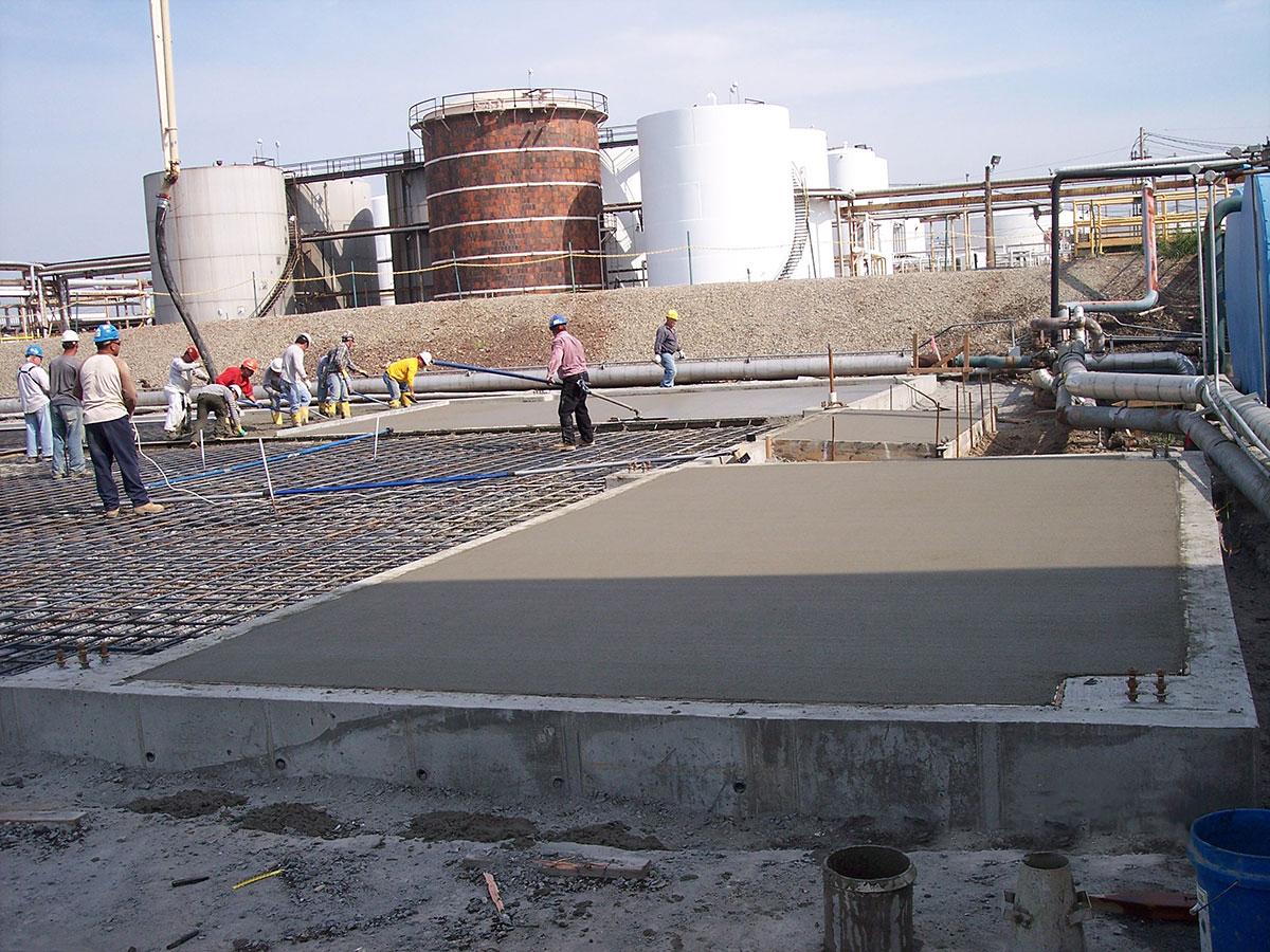 IMTT Building Foundation and Slab