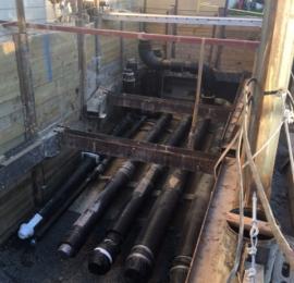 Jersey Shore Medical Center – UG Utility Shoring