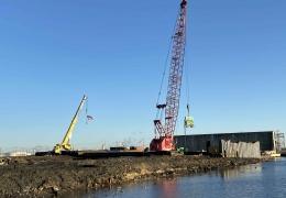 Linden Marine Bulkhead Stabilization