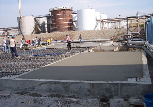 IMTT Building Foundation and Slab