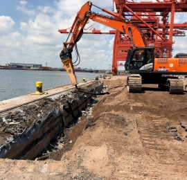 PNCT Wharf Reinforcement Projects 8 and 9