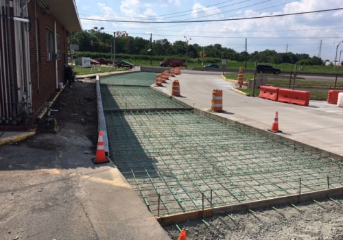 Phillips 66 Reinforced Concrete Paving