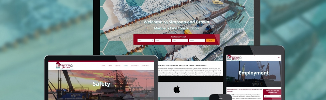 Simpson & Brown Launches Upgraded Website